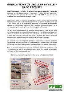 Compte rendu de Réunion du bureau National de la FFMC